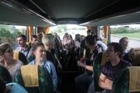 Finale régionale benjamines dans le bus du retour