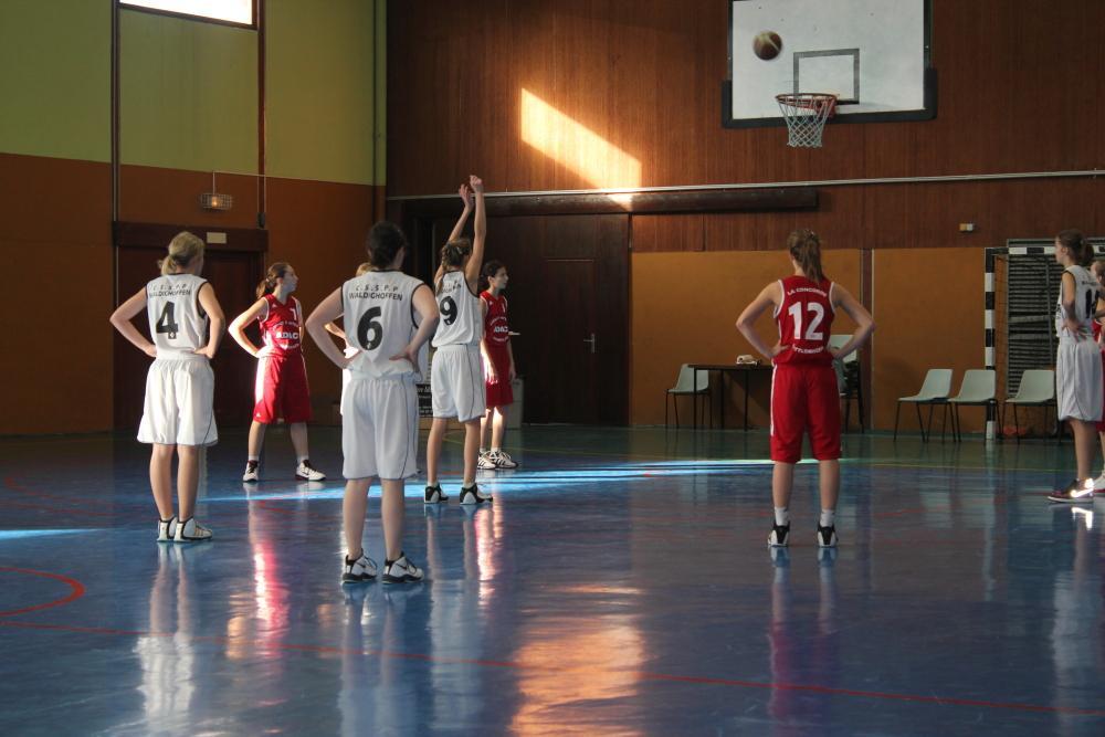 Match minimes région du dimanche 20 novembre 2011.