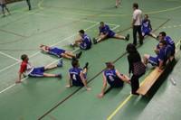Barrage maintien seniors garçons la déception d'après-match