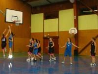 Contre de Mélanie match cadettes- oltingue du dimanche 22 janvier 2012