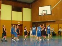 Un panier match cadettes- oltingue du dimanche 22 janvier 2012 à Waldighoffen