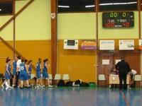 Tableau d'affichage match cadettes - Oltingue le 22 janvier 2012 à Waldighoffen