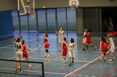 Attaque des blanches match SIG 2 - Waldighoffen du 18/02/12 à Strasbourg