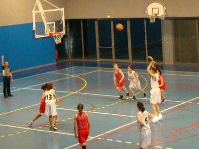 Mélanie Baumann match SIG 2 - Waldighoffen du 18/02/12 à Strasbourg