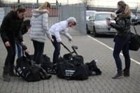Sur le parking match SIG 2 - Waldighoffen du 18/02/2012 à Waldighoffen