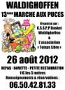 Affiche Marché aux Puces du 26 août 2012