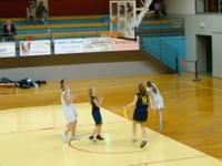 Les minimes féminines région à Geispolsheim le dimanche 27 novembre 2011.