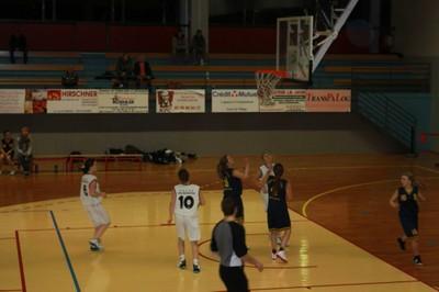 Les minimes féminines région à Geispolsheim le 27 novembre.