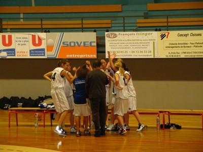 Match minimes région à Geispolsheim le dimanche 27 novembre 2011.