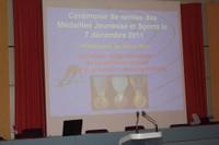 Médaille jeunesse et sports.