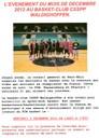 Mercredis du basket à Waldighoffen le 5 décembre 2012.