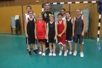 Le groupe des benjamines du basket-club CSSPP Waldighoffen de la saison 2012/2013.