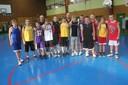 le groupe des minimes garçons de la saison 2012/2013.