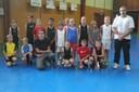 Le groupe des poussins/poussines du basket-club CSSPP Waldighoffen