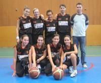 L'équipe des minimes féminines 2 de la saison 2012/2013.