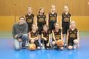 Les poussines du basket-club CSSPP Waldighoffen.