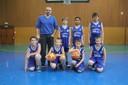 Les poussins du basket-club CSSPP Waldighoffen.