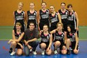 Les seniors féminines du basket-club CSSPP Waldighoffen 2012/2013.