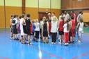 mercredi du basket  présentation des joueurs.
