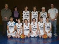 L'équipe des benjamines 2009/2010.