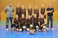 L'équipe des cadettes de la saison 2012/2013.