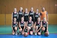 l'équipe des seniors féminines 2014-2015.