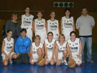 L'équipe des minimes filles de la saison 2010/2011.