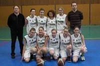 L'équipe minimes féminines région de la saison 2011/2012.