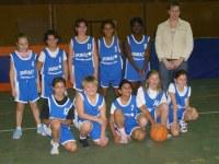 L'équipe des poussines de la saison 2006/2007.