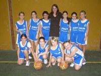 l'équipe des poussines de la saison 2007/2008.