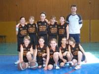 L'équipe des poussines saison 2009/20010.