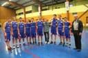 Le groupe des cadets avec leur sponsor.