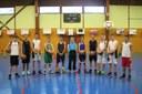 Le groupe des cadets du basket-club CSSPP Waldighoffen saison 2014-2015.