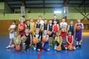 Le groupe des poussins/poussines du basket-club CSSPP Waldighoffen saison 2014/2015.