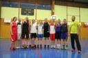 Le groupe des seniors féminines du basket-club CSSPP Waldighoffen saison 2014/2015.
