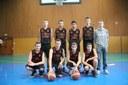 L'équipe des cadets du basket-club CSSPP Waldighoffen saison 2014/2015.