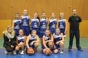 L'équipe des minimes féminines du basket-club CSSPP Waldighoffen saison 2014/2015.