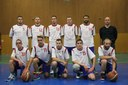 L'équipe des seniors garçons du basket-club CSSPP Waldighoffen de la saison 2014/2015.