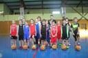 Le groupe des poussins/poussines du basket-club CSSPP Waldighoffen saison 2015/2016.