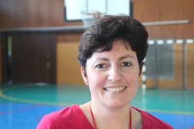 Rachel Goral entraineur de l'équipe des mini-poussins.