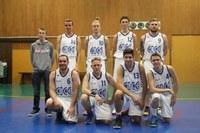 L'équipe des seniors garçons du basket-club CSSPP Waldighoffen saison 2016/2017.