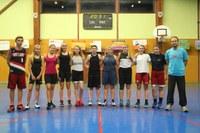 Le groupe des cadettes saison 2016/2017.