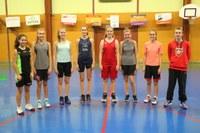 Le groupe des minimes filles saison 2016/2017.