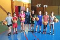 Le groupe des poussines du basket-club CSSPP Waldighoffen saison 2016/2017.