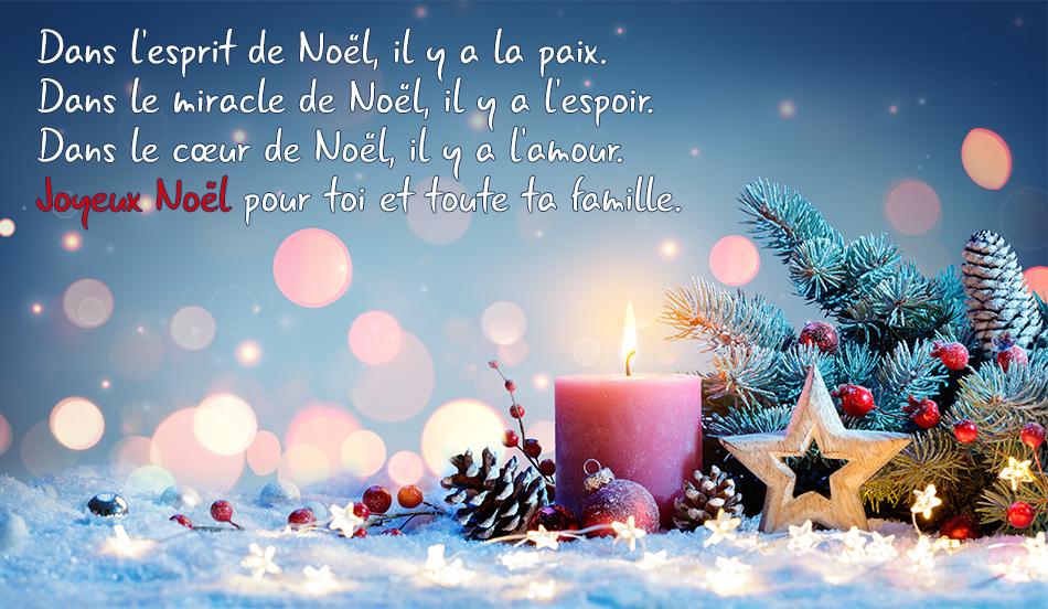 Carte de Noel.
