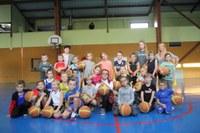 Groupe mini-poussins du basket-club CSSPP Waldighoffen saison 2017/2018.
