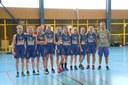 L'équipe des cadettes vice-championne du Haut-Rhin 2017/2018.