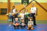 Le groupe des baby-basketteurs du basket-club CSSPP Waldighoffen.