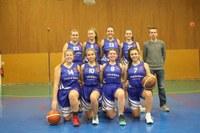 L'équipe des seniors féminines du basket-club CSSPP Waldighoffen.