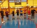 Le groupe des minimes garçons 2019-2020.
